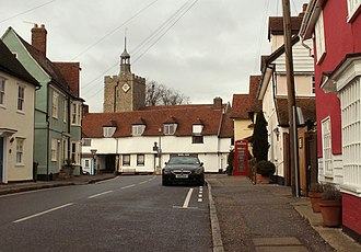 Felsted - Image: The heart of Felsted village geograph.org.uk 1174768