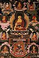 The medicine Buddha. Gouache. Wellcome V0017719.jpg