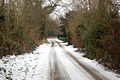 The old Fosse Way at Eathorpe on a snowy day - geograph.org.uk - 1659808.jpg