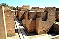 The procession street at Babylon city, bas-reliefs of dragons and bulls appear on the walls.jpg