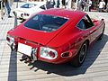 The rearview of Toyota 2000GT (MF10 latter period).JPG