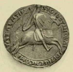 Theobald III, Count of Champagne - Seal of Theobald III