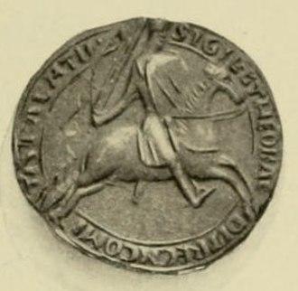 Theobald III, Count of Champagne - Seal of Theobald III