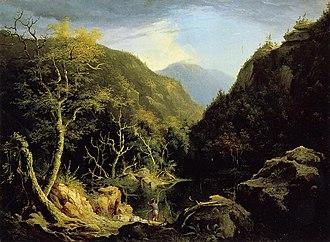 Arnot Art Museum - Image: Thomas Cole Autumn in the Catskills