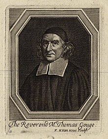 Thomas Gouge, Presbyterian vicar of St. Sepulchre until 1662 Thomas Gouge.jpg