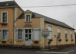 Thoree les Pins Mairie.JPG