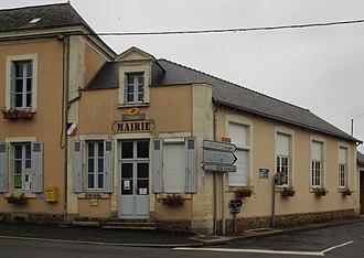 Thorée-les-Pins - The town hall of Thorée-les-Pins