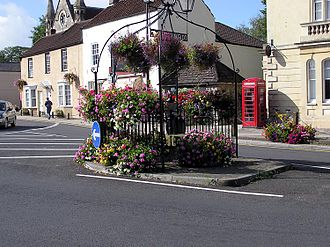 Thornbury, Gloucestershire - Thornbury town pump (no longer functioning)