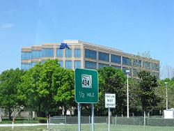 Outside view of EA Tiburon building