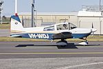 Tiger Aircraft AG-5B Tiger (VH-WDJ) taxiing at Wagga Wagga Airport.jpg