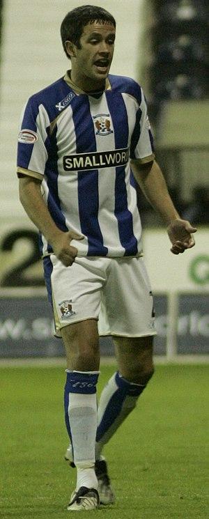 Tim Clancy - Clancy playing for Kilmarnock