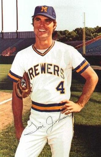 Tim Johnson (baseball) - Johnson in 1973
