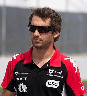 Timo Glock German racing driver