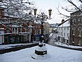 Tiverton , Angel Hill and Lamppost - geograph.org.uk - 1658769.jpg