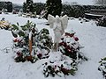 Tiverton , Tiverton Cemetery, Angel Ornament - geograph.org.uk - 1654159.jpg