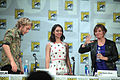 Toby Regbo, Adelaide Kane & Megan Follows (14583840017).jpg