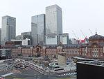 Tokyo Station restoration, 24 June 2012, 07.jpg