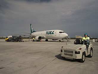 Toll Group - Toll 737 aircraft.