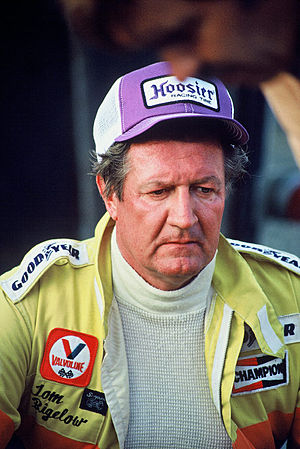 Tom Bigelow - Bigelow at a sprint car race