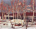 Tom Thomson,1917, April in Algonquin Park,21 x 26,5 cm, Tom Thomson Memorial Art Gallery.jpg