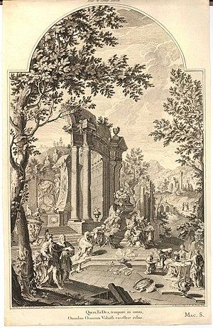 Pietro Paltronieri - Image: Tombe allégorique de Lord Dorset
