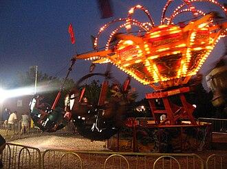 Tornado (Wisdom ride) - The traveling Tornado at the Great Falls Balloon Festival in Lewiston, Maine