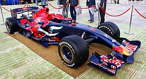 Scuderia Toro Rosso STR2 at the Red Bull Air R...