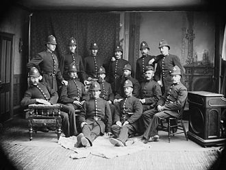 Toronto Police Service - Constables of the Toronto Police Department, 1883