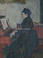 Toulouse-Lautrec - MADAME PASCAL AU PIANO, 1895, MTL.185.jpg
