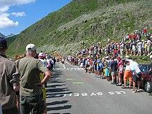 Passage du Tour de France au col de la Croix-de-Fer en 2006