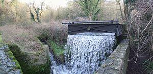Loose Stream - Wheel pit, Lower Chrisbrook Mill