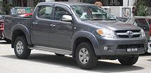 Un Toyota Hilux di settima generazione