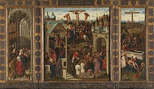 Triptych with Scenes from the Life of Christ