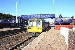 Stockton railway station (County Durham) Railway station in County Durham, England