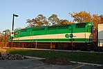 Trainspotting GO train -451 banked by MPI MP-40PH-3C -637 (8123625788).jpg