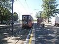 Tram 146 at Sitsi Stop in Kopli Tallinn 28 June 2018.jpg