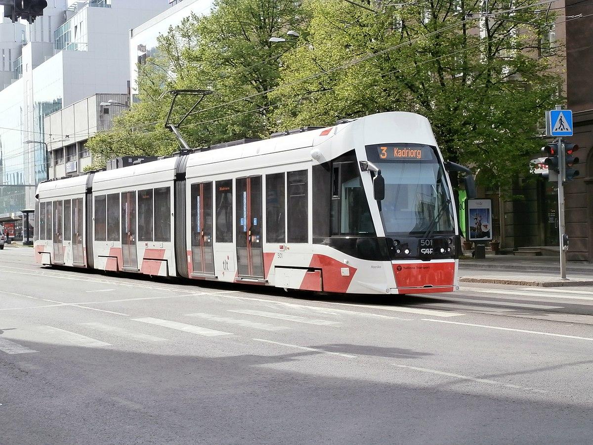 Tallinnan Raitiotieliikenne Wikipedia