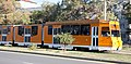 Tram in Sofia in front of Central Railway Station 2012 PD 097.jpg