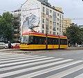 Tram in Warsaw, Pesa Jazz 134N n°3818.jpg