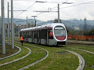 Trams in Florence