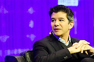 Uber - Travis Kalanick, former CEO of Uber, in 2013