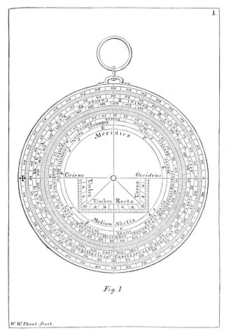 A Treatise on the Astrolabe - Image: Treatise on the Astrolabe 1