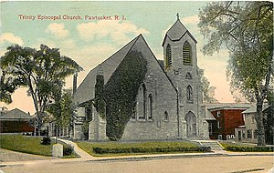 Trinity Church (Pawtucket, Rhode Island) - Image: Trinity Episcopal Church Pawtucket RI