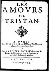 Les Amours de Tristan