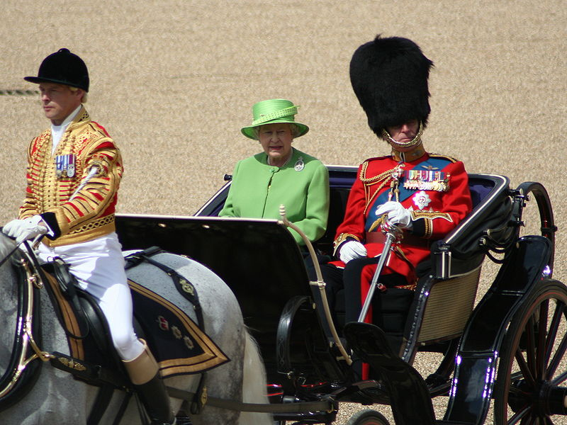 File:Trooping the Colour, 16th June 2007.jpg
