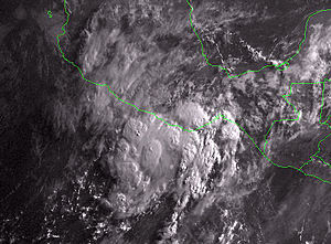 1997 Pacific hurricane season - Image: Tropical Storm Blanca 1997