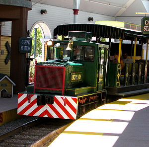 Tropicana Laughlin - Tropicana Express Train: Diesel engine No. 11 Lucky Lady in 2008