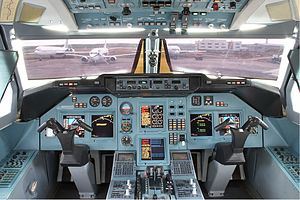 Tupolev Tu-204 - Cockpit of a Tu-214