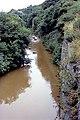 Turbid stream flowing into Skinningrove from Loftus - geograph.org.uk - 1540833.jpg