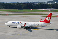 TC-JHD - B738 - Turkish Airlines